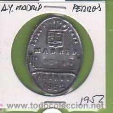 Coleccionismo: TASA PERROS-ANTIRRABICA-AYUNTAMIENTO DE MADRID 1952. Lote 12784713