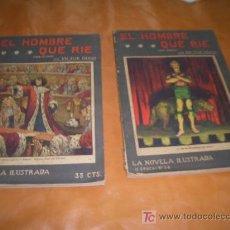 Coleccionismo: EL HOMBRE QUE RIE VICTOR HUGO COMPLETA TOMO 1-Y 2. Lote 7275226