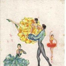 Coleccionismo: LÁMINA DE BALLET. Lote 21837789