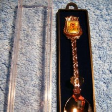 Coleccionismo: ANTIGUA CUCHARITA CON BAÑO DE PLATA DE CORDOBA.. Lote 24844541