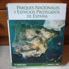 Coleccionismo: PARQUES NACIONALES Y ESPACIOS PROTEGIDOS DE ESPAÑA - COLECCIONABLE DE EL MUNDO 1999. Lote 8066882