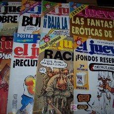Coleccionismo: LOTE DE 12 REVISTAS EL JUEVES . Lote 8176097