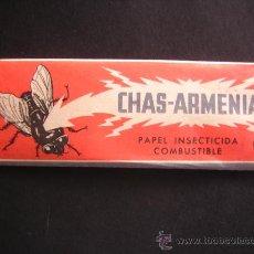Coleccionismo: SOBRE INSECTICIDA MATA MOSCAS SIN ABRIR, AÑOS 60 CHAS-ARMENIA. Lote 168486577