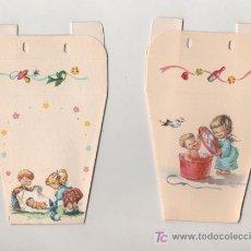 Coleccionismo: PRECIOSA Y ANTIGUA BOLSA RECUERDO BAUTIZO NUEVA. Lote 23267294