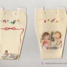 Coleccionismo: PRECIOSA Y ANTIGUA BOLSA RECUERDO BAUTIZO NUEVA. Lote 23267329