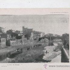 Coleccionismo: LAMINA FOTOGRAFICA. ANY 1913. 20 X 28 CM. LA BISBAL DE L' EMPORDA.FOT . BRESSANIN.. Lote 9499956