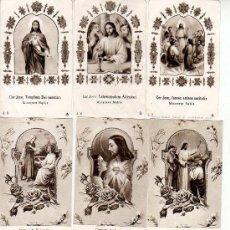 Coleccionismo: LOTE D OCHO ESTAMPAS RELIGIOSAS. Lote 10129979