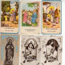 Coleccionismo: LOTE D OCHO ESTAMPAS RELIGIOSAS. Lote 10130100