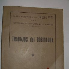 Coleccionismo: PUBLICACIONES DE LA RENFE-FORMACION PROFESIONAL DE SUS AGENTES-1959. Lote 16857405