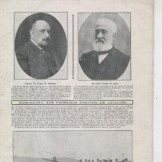 Coleccionismo: RECORTE DE PRENSA. 1910 AVIACION. BARCELONA. BLERIOT. MAMET. Lote 25991778