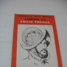 Coleccionismo: LECCIONES DE DIBUJO ARTISTICO LAMINAS POR EMILIO FREIXAS SERIE 9. Lote 13439037