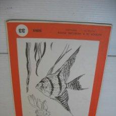Coleccionismo: LECCIONES DE DIBUJO ARTISTICO LAMINAS POR EMILIO FREIXAS SERIE 33. Lote 13492675
