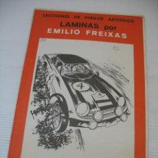 Coleccionismo: LECCIONES DE DIBUJO ARTISTICO LAMINAS POR EMILIO FREIXAS SERIE 40. Lote 13536484