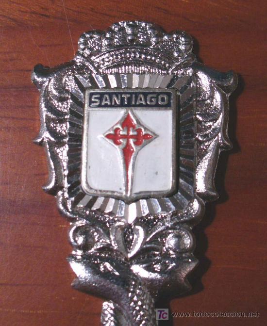 Coleccionismo: CUCHARILLA COLECCION SANTIAGO COMPOSTELA - Foto 2 - 21447010