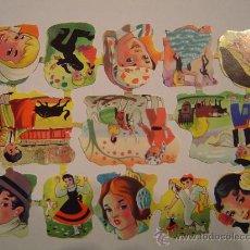 Coleccionismo: CROMOS TROQUELADOS EVA Nº CORTADO. Lote 10862096