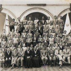 Coleccionismo: FOTO ALUMNOS COLEGIO DE MATARO 1935. Lote 25312230