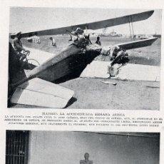 Coleccionismo: AVIACION 1929 MADRID ACCIDENTE. Lote 11687360