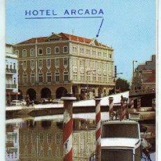 Coleccionismo: TARJETA COMERCIAL HOTEL ARCADA AVEIRO . Lote 12130224