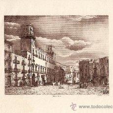 Coleccionismo: 2 GRABADOS DE ALICANTE(AYUNTAMIENTO). Lote 12363361