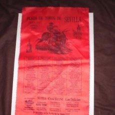 Coleccionismo: TOROS DE SEVILLA CARTEL PROMOCIONAL PLAZA DE TOROS DE SEVILLA 2007 . Lote 27242492