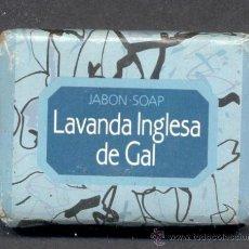Coleccionismo: PASTILLA JABON SOAP LAVANDA INGLESA DE GAL . Lote 13497717