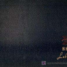 Coleccionismo: SERVICIO SOCIAL. LABORES. 1954. 23 X 33 CM. 22 P. CON 20 LABORES. FRANQUISMO. Lote 26672785
