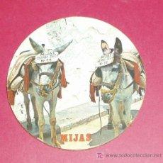 Coleccionismo: POSAVASOS MIJAS. BURROS - TAXI Nº 14 Y Nº 15.. Lote 13813347