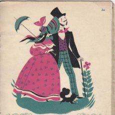 Coleccionismo: 0533- PROGRAMA DE LA EXPOSICIÓN 'TEATRINOS DE ÉPOCA', DEL 20 DE ABRIL AL 8 DE MAYO DE 1948. Lote 14089934