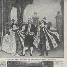 Coleccionismo: RECORTE DE PRENSA. AÑO 1908.LOS SALTIMBANQUIS. ACROBATAS BRAGGAARS. CIRCO. . Lote 14086475