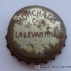 Coleccionismo: TAPON CORONA DE HORCHATA DE CHUFA LA LEVANTINA. Lote 14287067