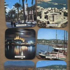 Coleccionismo: LOTE 6 POSAVASOS PALMA DE MALLORCA. Lote 23505545