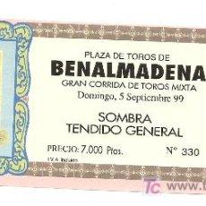 Coleccionismo: ENTRADA DE TOROS 1999. Lote 207123763