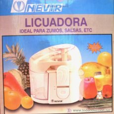 Coleccionismo: LICUADORA 'NEVIR' NVR-3286L - ¡¡A ESTRENAR!!. Lote 25265743
