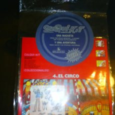 Coleccionismo: M69 JUEGO CALQUI-KIT SIMILAR A LOS KALKITOS DE BRUGUERA NUMERO 4 EL CIRCO RARO!!!!!. Lote 16147036