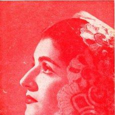 Coleccionismo: PS3341 PROGRAMA SENCILLO TEATRO POLIORAMA (BARCELONA). JUANITA REINA - 'SOLERA DE ESPAÑA NÚM. 5'. Lote 15259591