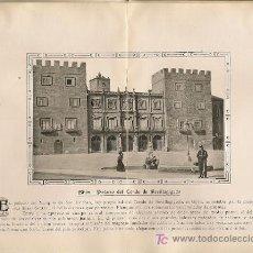 Coleccionismo: * GIJÓN, ASTURIAS * PALACIO DEL CONDE DE REVILLAGIGEDO - 1911. Lote 20926685
