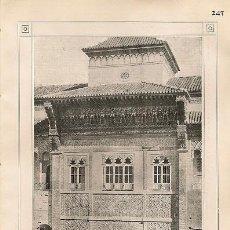 Coleccionismo: * SEVILLA * ALCÁZAR, PALACIO DE SAN TELMO, TORRE DEL ORO, AYUNTAMIENTO, FÁBRICA DE TABACOS, - 1911. Lote 20941344