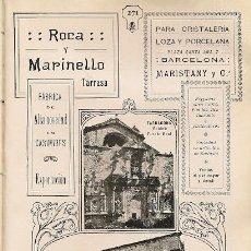 Coleccionismo: * POBLET, TARRAGONA * PALACIO REAL - 1911. Lote 20941348