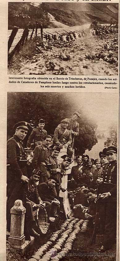 Coleccionismo: REVOLUCION DE OCTUBRE 1934. LOS SUCESOS REVOLUCIONARIOS EN PASAJES DE SAN PEDRO Y EIBAR - Foto 1 - 15662862