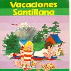 Coleccionismo: 24-LIB4. ADHESIVO. VACACIONES SANTILLANA. CAMPING. Lote 16464808