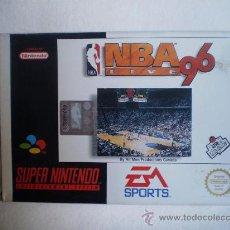 Coleccionismo: JUEGO SUPERNINTENDO.NBA 96. Lote 26945064