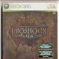 Coleccionismo: BIOSHOCK EDICIÓN COLECCIONISTA ESPAÑOL X360!. Lote 26637312