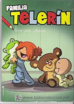 Cuento Para Colorear De La Familia Telerín