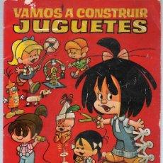 Collectionnisme: VAMOS A CONSTRUIR JUGUETES. LA FAMILLIA TELERÍN.LIBRO PARA RECORTAR. BRUGUERA 1966.. Lote 17858179