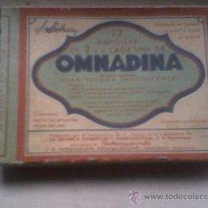 Coleccionismo: HOMNAMIDA CAJA ANTIGUA DE MEDICAMENTOS VACIA MEDICINA . Lote 19252751