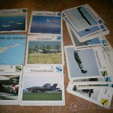 Coleccionismo: 60 FICHAS DE AVIONES PLANETA AGOSTINI . Lote 26966318