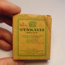 Coleccionismo: CAJA MEDICAMENTO. SYNKAVIT ·ROCHE.VITAMINA K. FARMACIA. . Lote 18328607