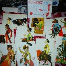 Coleccionismo: TARJETAS TOREROS. Lote 26790426
