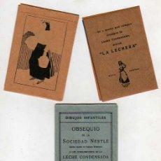 Coleccionismo: SOBRE DE NESTLE -LA LECHERA- DIBUJOS INFANTILES -COLEGIO- ESCUELA . Lote 18705944