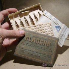 Coleccionismo: CAJA MEDICAMENTO CLADENE. MEDICAMENTO. FARMACIA . Lote 18737290